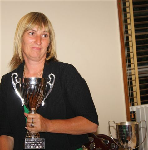 19 June 2009 Allison Wedge with Ernie Wedge Memorial Trophy