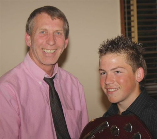 19 June 2009 Gary Skillett and Aaron Neil MIP Youth Player