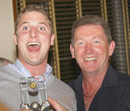 19 June 2009 James Major 100 apps and Trent Thomas