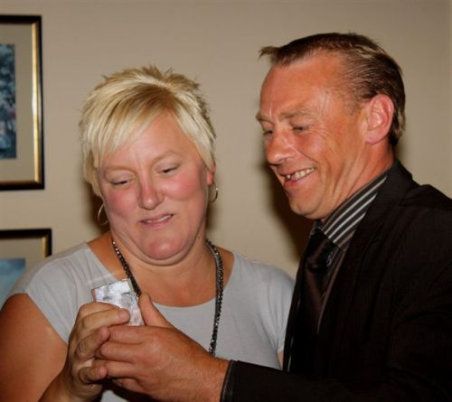 Maxine Smith and Phil Wedge 19 June 2009