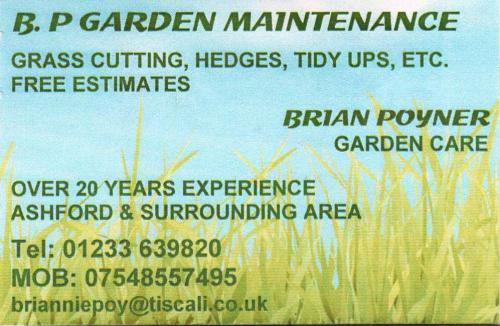 B.P. Garden Maintenance 001