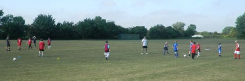 Another good turn out for the coaching session [21 May 2011]