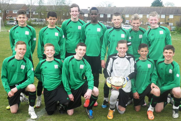 12.5.2013 Before the match with Tankerton