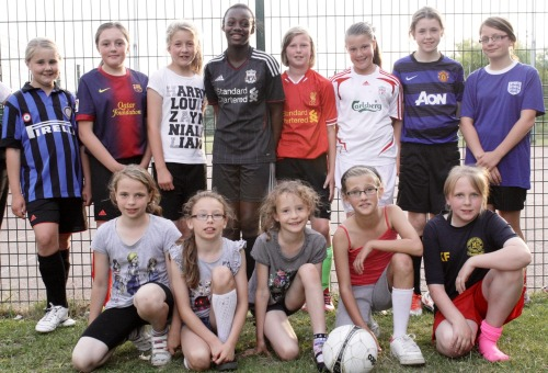 15.7.2013 Some of the girls that will wear the Green shirt next season
