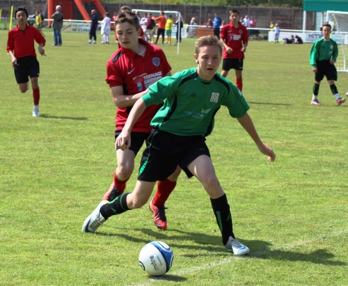 19.5.2013 Jack Cheesman - one of a cluster of new signings aiming to bring success in the Ashford League next season