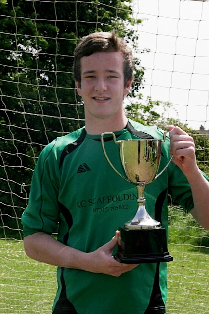 19.5.2013 Craig with the league trophy