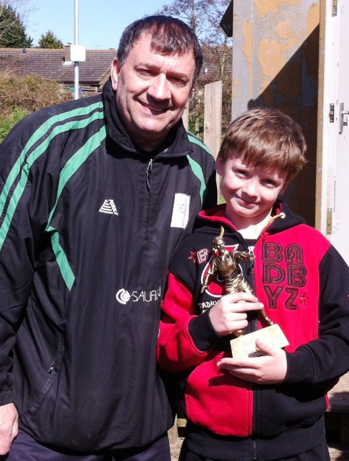 20 April 2013 U10s Player of the Match