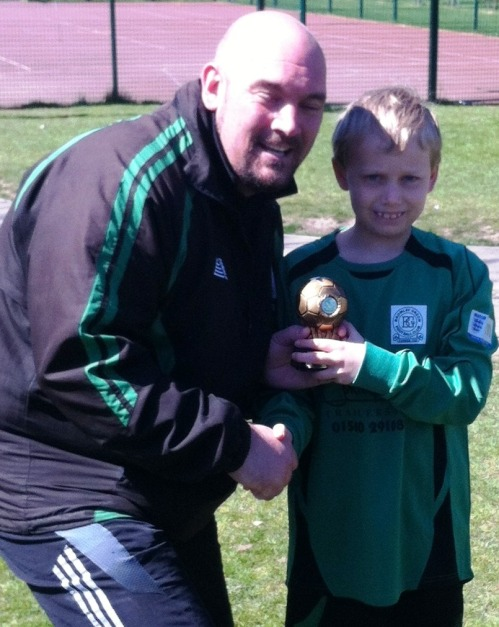 20 April 2013 U11s Colts player of the match