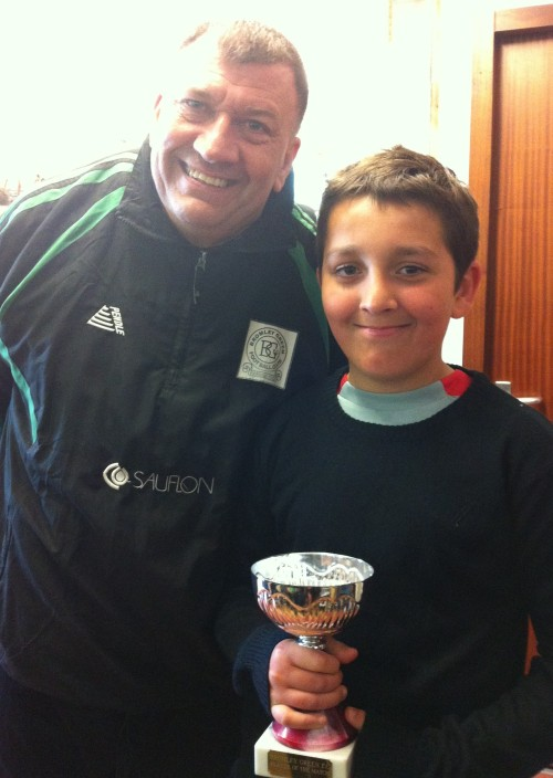 27 April 2013 U10s player of the match