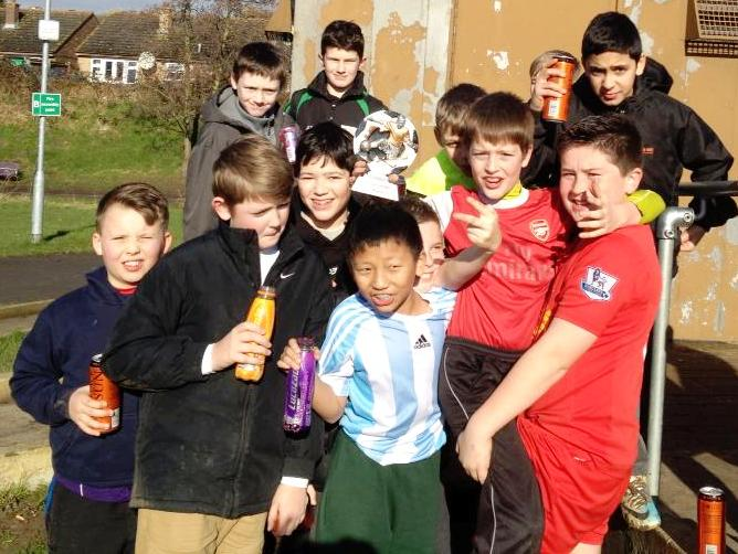 Our happy Under 12s on Saturday