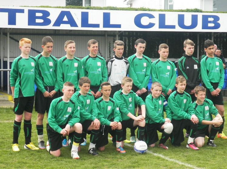4.5.2013 U14 squad at Selsey FC
