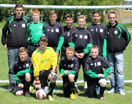 8.6.2013 U14s winners Bromley Green A