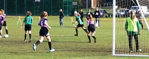 5-0 win at Waterside on Sunday ... well done girls!
