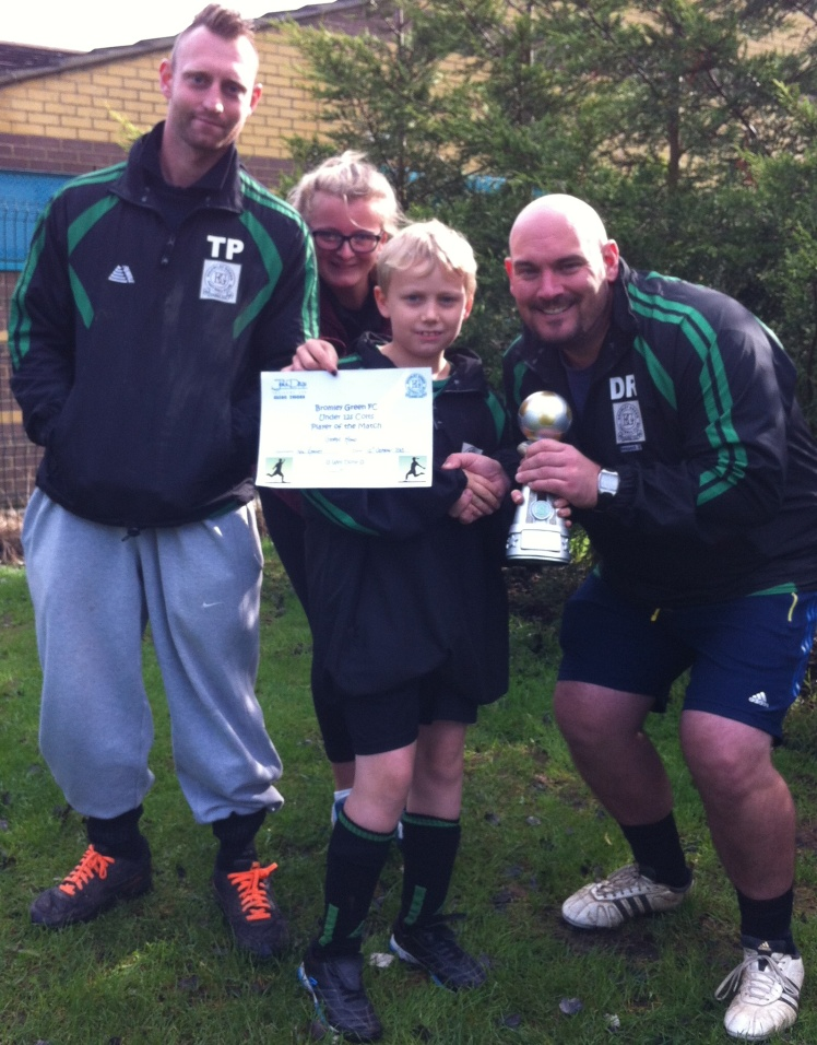 12 October 2013 U12 Colts Player of the Match George Head