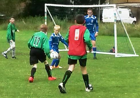 Juniors go for goal against Deal