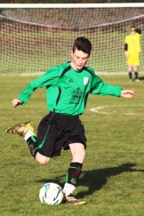 14.12.2013 U15s at Weald Wolves Cameron in action