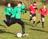 14.12.2013 U15s at Weald Wolves Reece in action2