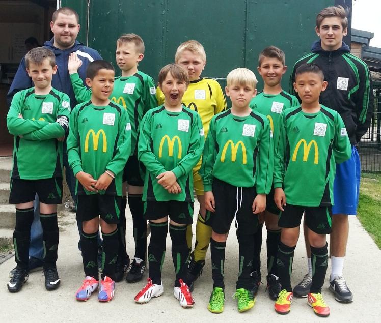 15.6.2014 Our U10s squad