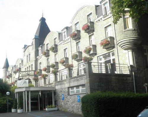 The luxury hotel