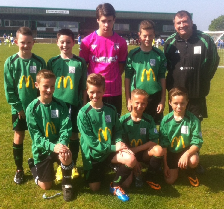18.5.2014 U12s at South Ashford Tournament[1]