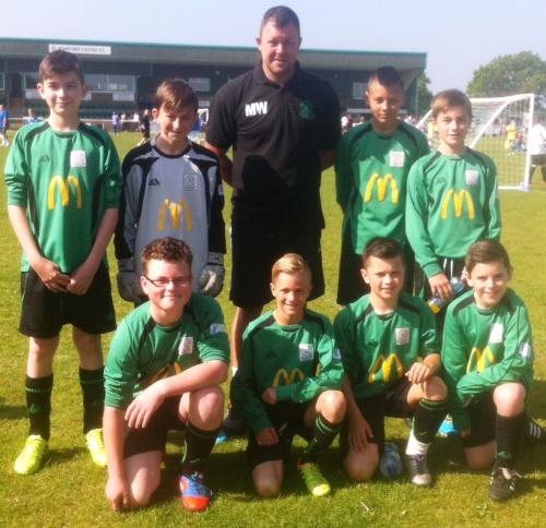 18.5.2014 U12s at South Ashford Tournament[2]