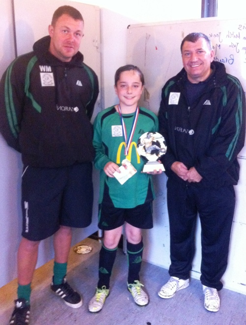 Rhys was our McDonalds Player of the Match against New Romney