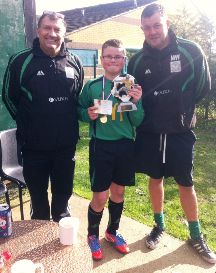 2.11.2013 Jack Brown is our McDonalds Player of the Match