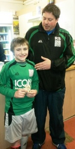 Well done our Ollie! Player of the Tournament today for the U11s