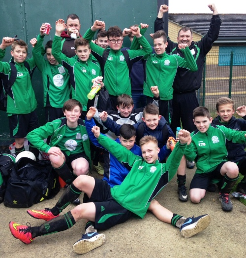 2015.04.04 [8] U13s League winners