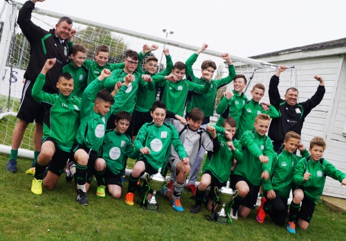 2 May 2015 The League and Cup double is completed
