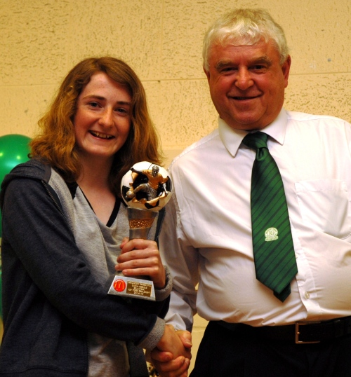 Isabelle Griffiths is the BG Girls McDonalds Player of the Season