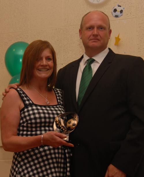 Debby and Pip at the awards ceremony