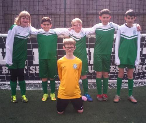 Most of our U13s step up to U16 next season ... good luck and keep enjoying your football