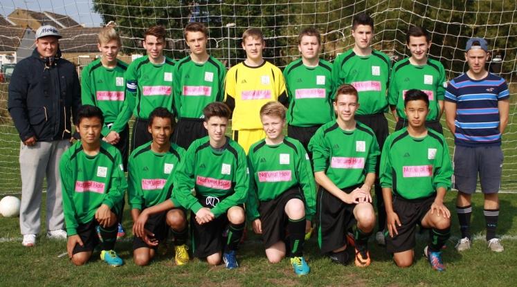 29 September 2013 U16s home Faversham Town[5]