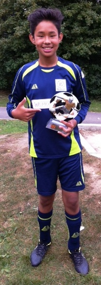 Congratulations to Rohit ... our Player of the Match at Headcorn