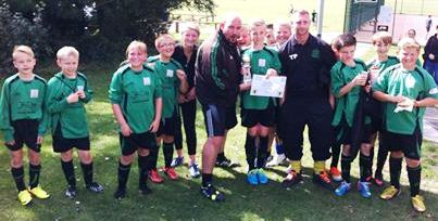 7.9.2013 What a start! Our Colts beat Biddenden at sunny Waterside this morning ... well done all!