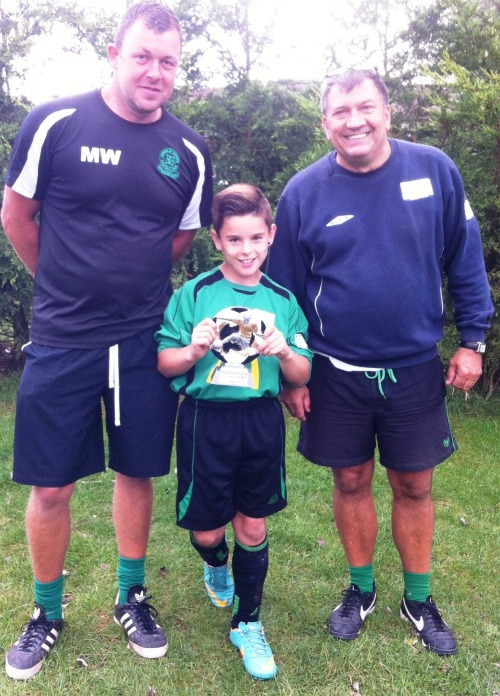 Player of the Match Charlie Morse