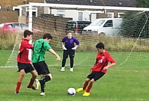 Liam Dadd crashed home two goals today in our remarkable comeback