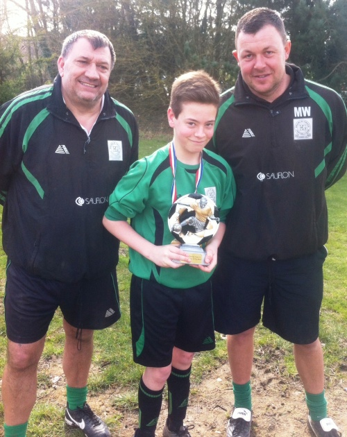8.3.2014 Cameron is our McDonalds Player of the Match