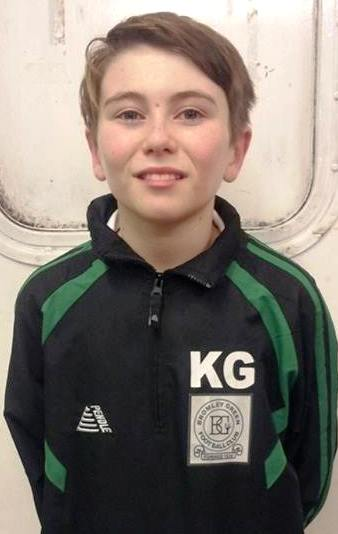 Bromley Green Valiants keeper Kian ... have a great day