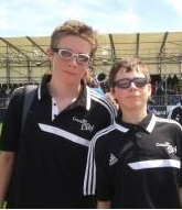 Matthew and Luke Boulding when Invicta Valiants 2013