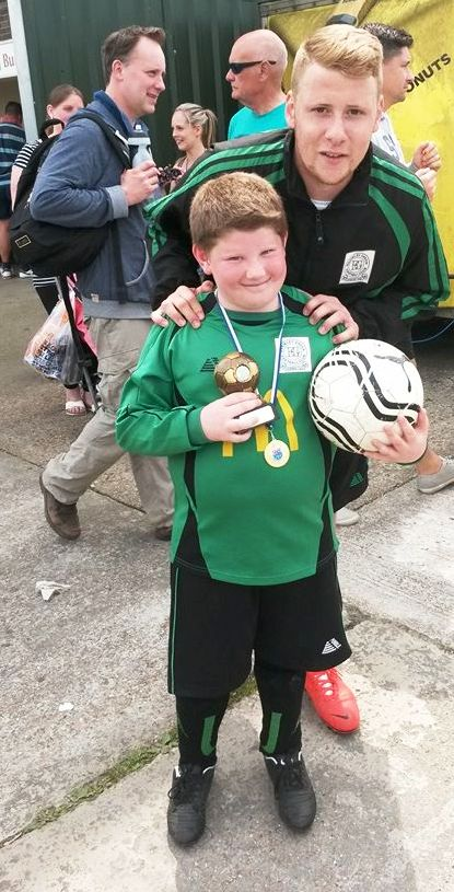 17.5.2014 Our proud player of the tournament today