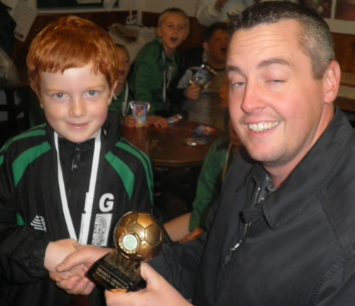 2.11.2013 Elliot is our Player of the Cup Tournament ... well done!