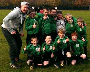 30.11.2013 The U9s who beat Ashford United 2-1