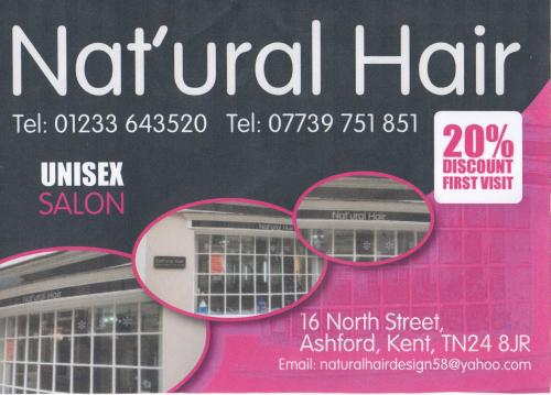 Nat'ural Hair Flyer 001