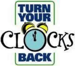 clocks back
