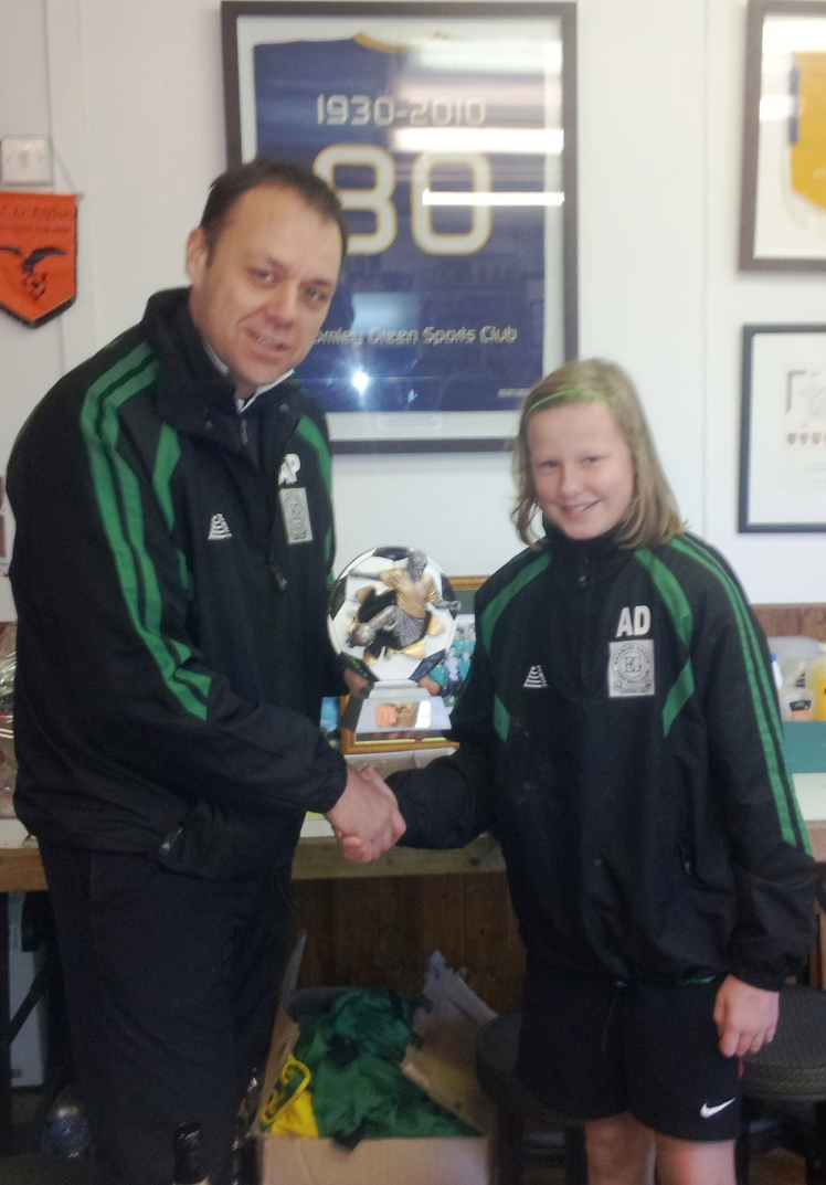 11 May here we come! Abbey was our McDonalds Player of the Match in the cup semi final