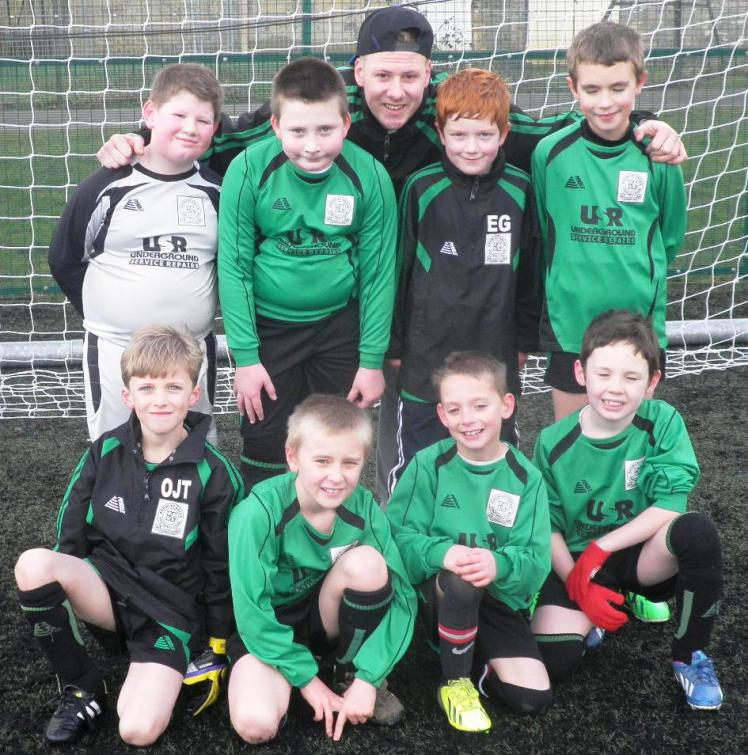 Under 9s before this morning's win
