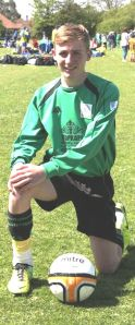 Bognor ESF Tournament Under 15s May 2014[9] Josh Twyman