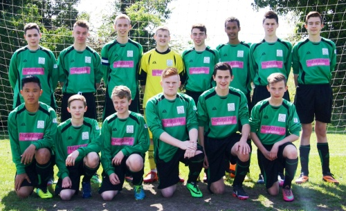 The U16s who started superbly against Ramsgate today but ended up losing both of the double headers